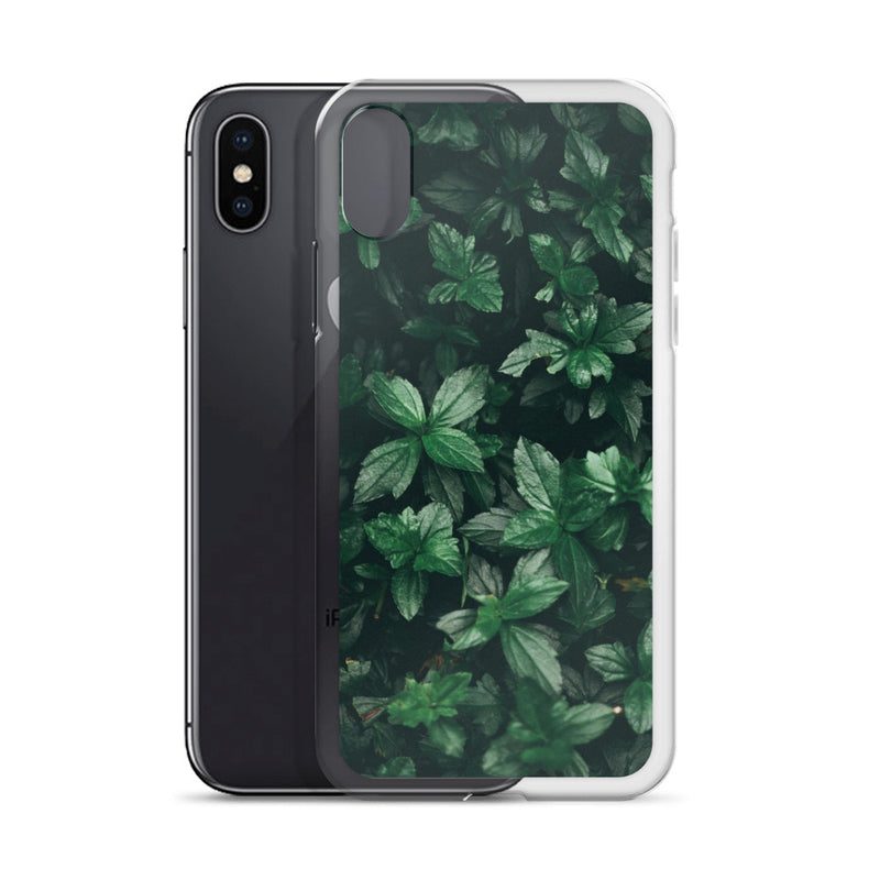Natural Leaves iPhone Case - ethereal-arscenic