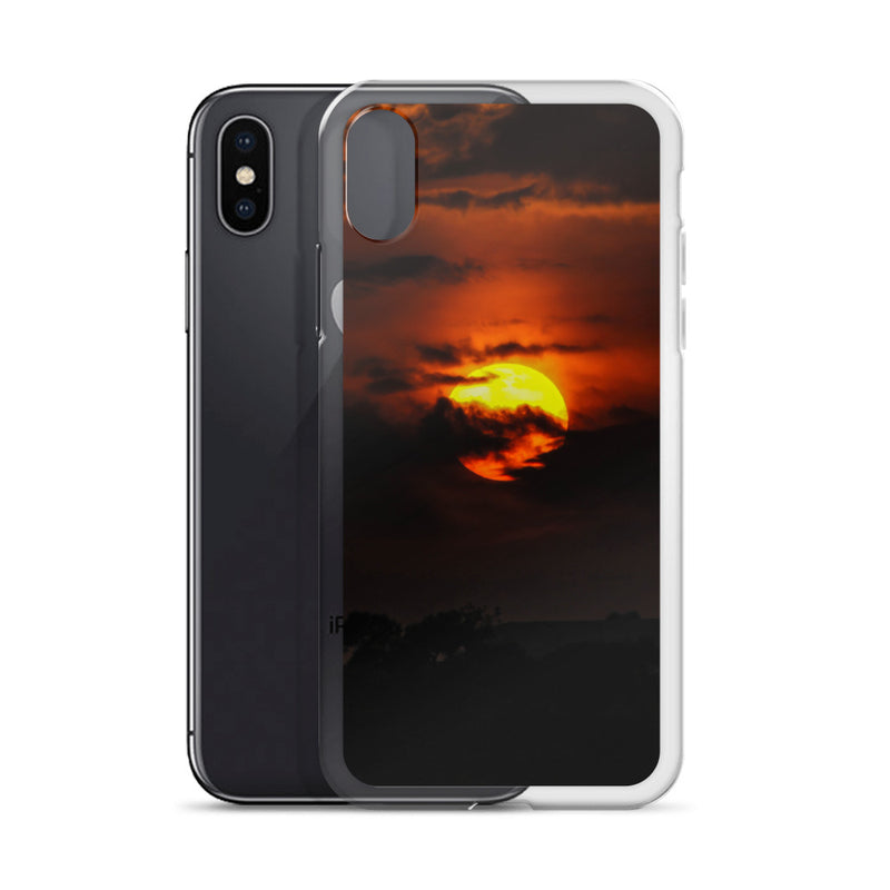 Back-lit Cloud iPhone Case - ethereal-arscenic
