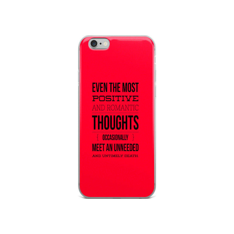 Broken Red iPhone Case - ethereal-arscenic