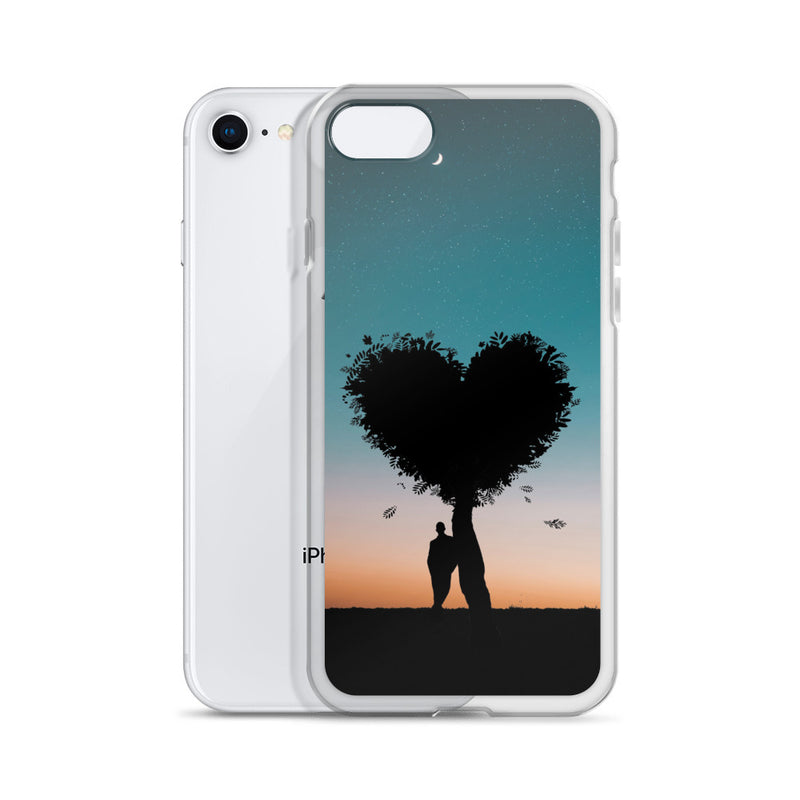 Loving Tree iPhone Case - ethereal-arscenic