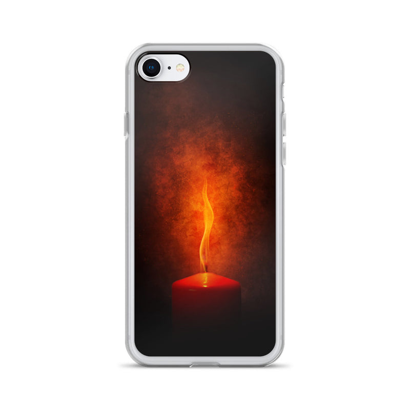 Firing Candle iPhone Case - ethereal-arscenic