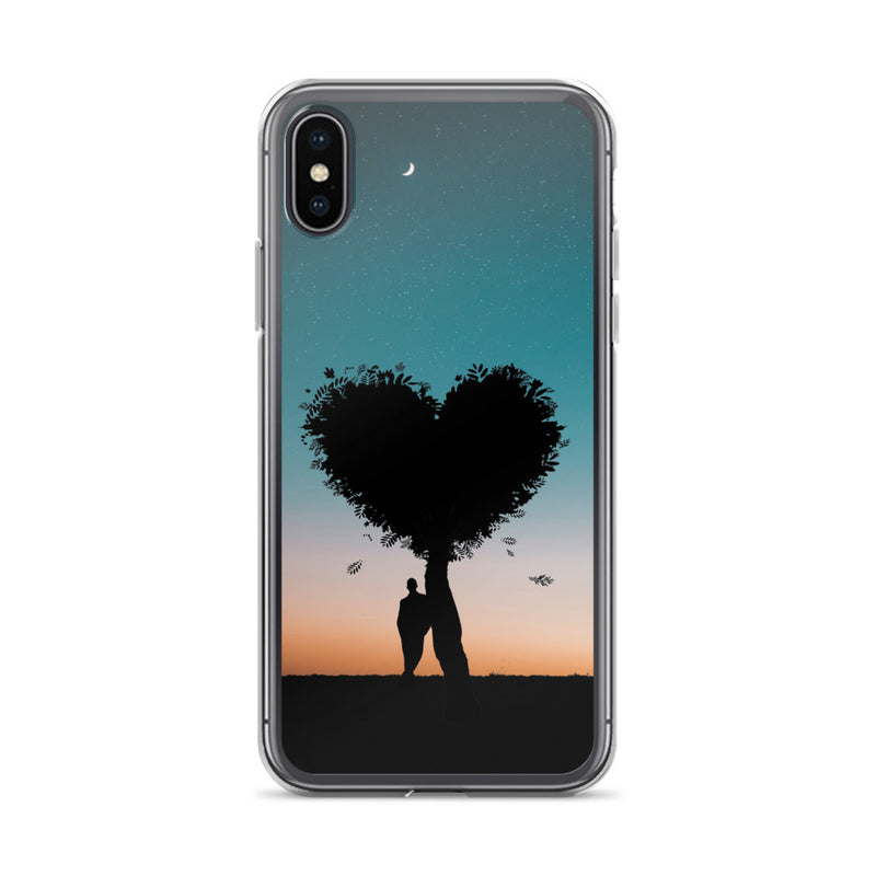 Loving Tree iPhone Case