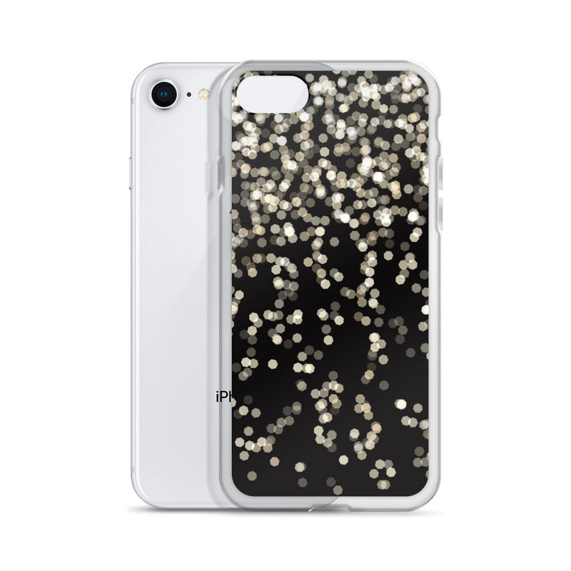 Pixel Lights iPhone Case - ethereal-arscenic