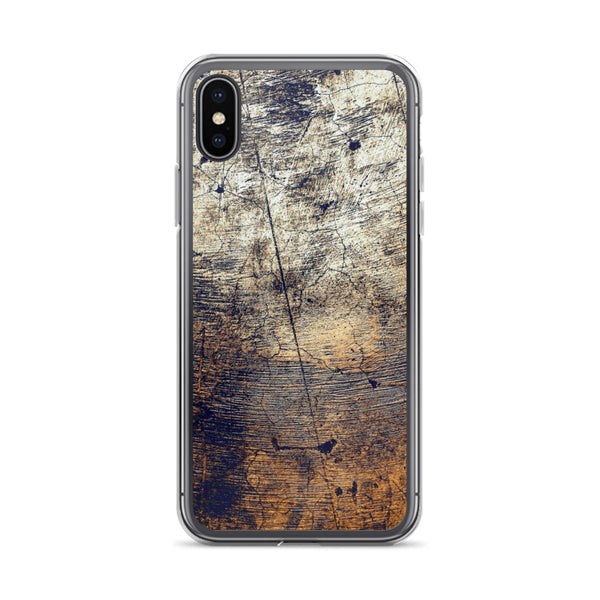 Old Wooden Wall iPhone Case