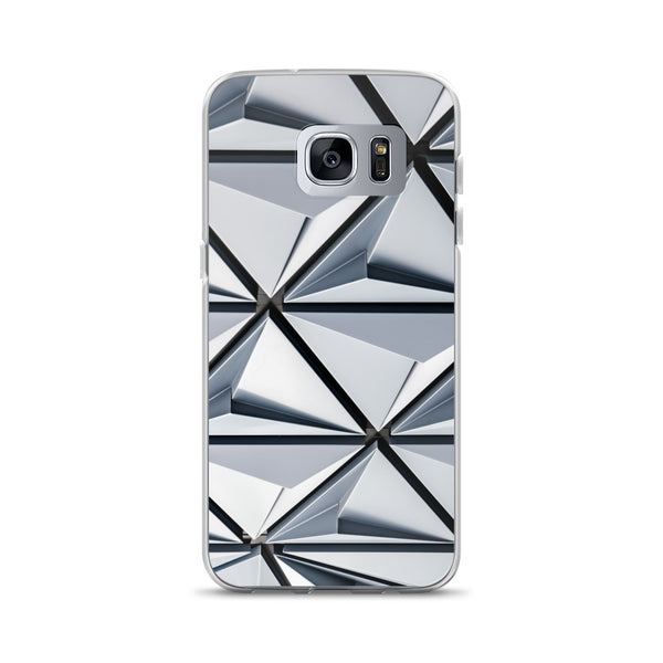 Triangular Abstract Samsung Case - ethereal-arscenic