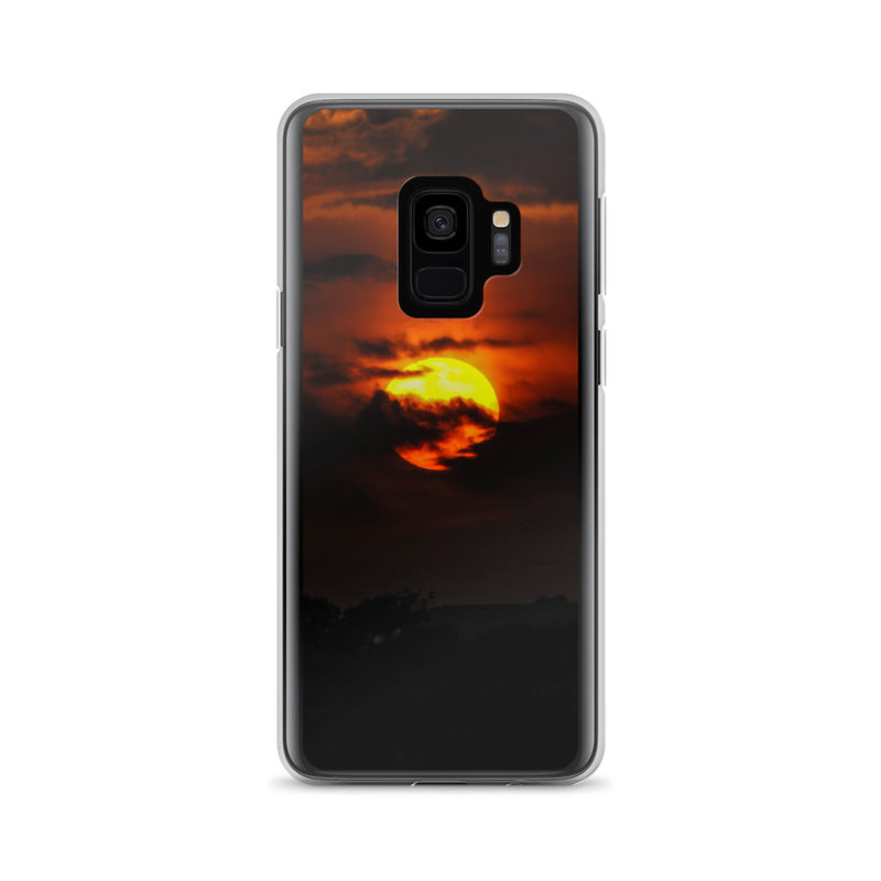 Back-lit Cloud Samsung Case - ethereal-arscenic