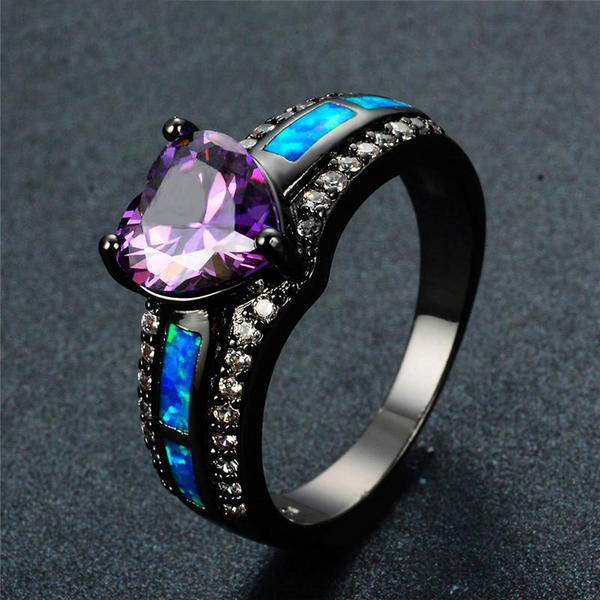 The Angel Wish Ring [NEW COLORS!] - ethereal-arscenic