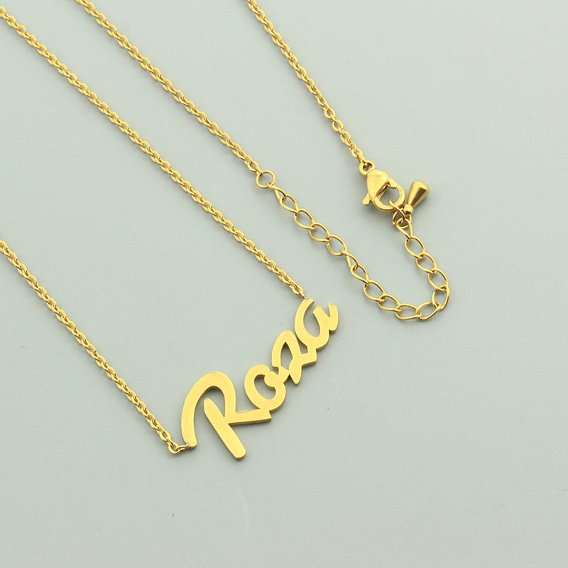 Personalized Custom Name Pendant - ethereal-arscenic