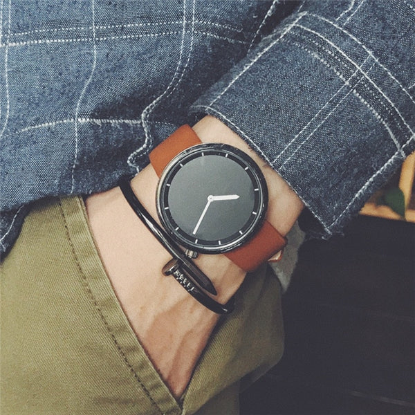 Minimal Look Quartz Watch - ethereal-arscenic