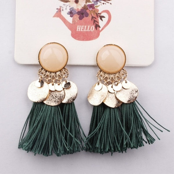 Bohemian Dangle Drop Earrings