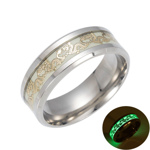 Glow In The Dark Lumineux Rings - ethereal-arscenic