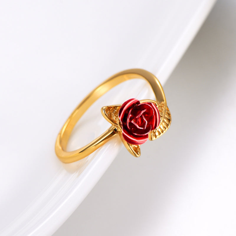Red Rose Ring - ethereal-arscenic