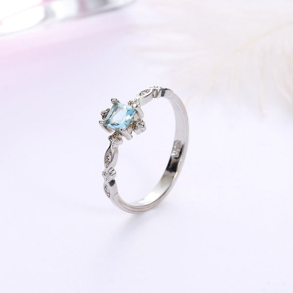 Crystal Twist Classical Ring - ethereal-arscenic