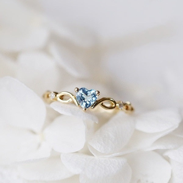 Crystal Love Ring - ethereal-arscenic
