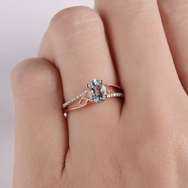 Classical Cubic Crystal Ring - ethereal-arscenic