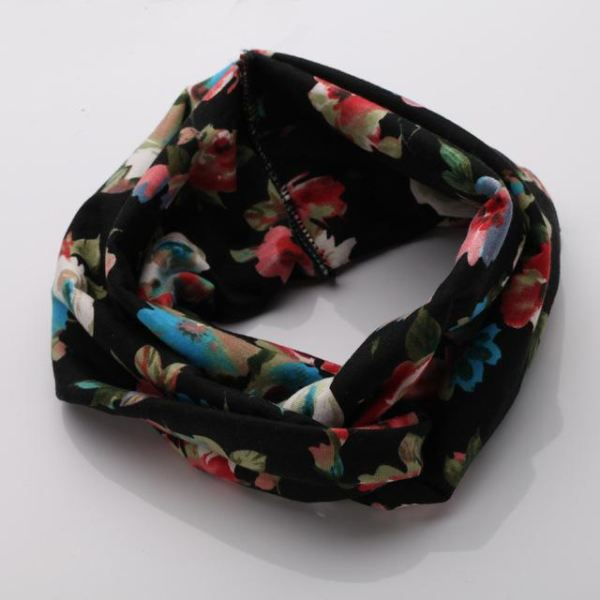 Twisted Knotted Floral Headband - Color 10