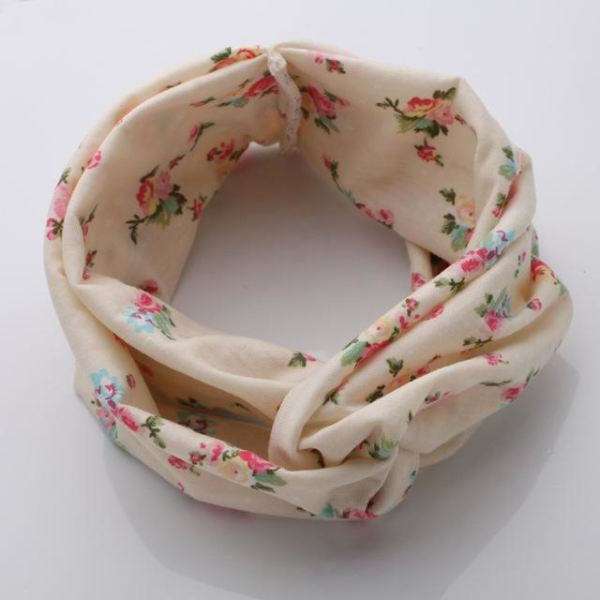 Twisted Knotted Floral Headband - Color 4
