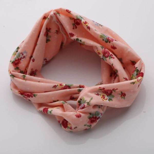 Twisted Knotted Floral Headband - Color 7