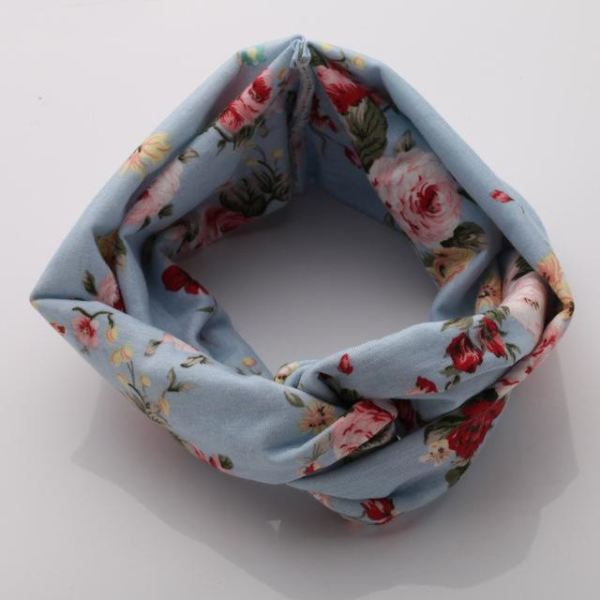 Twisted Knotted Floral Headband - Color 9