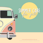 SUMMER CARE FOR PETS