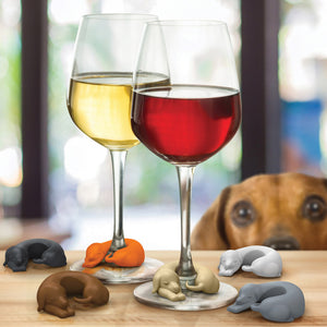 Sausage Dog Wine Markers (set of 6)