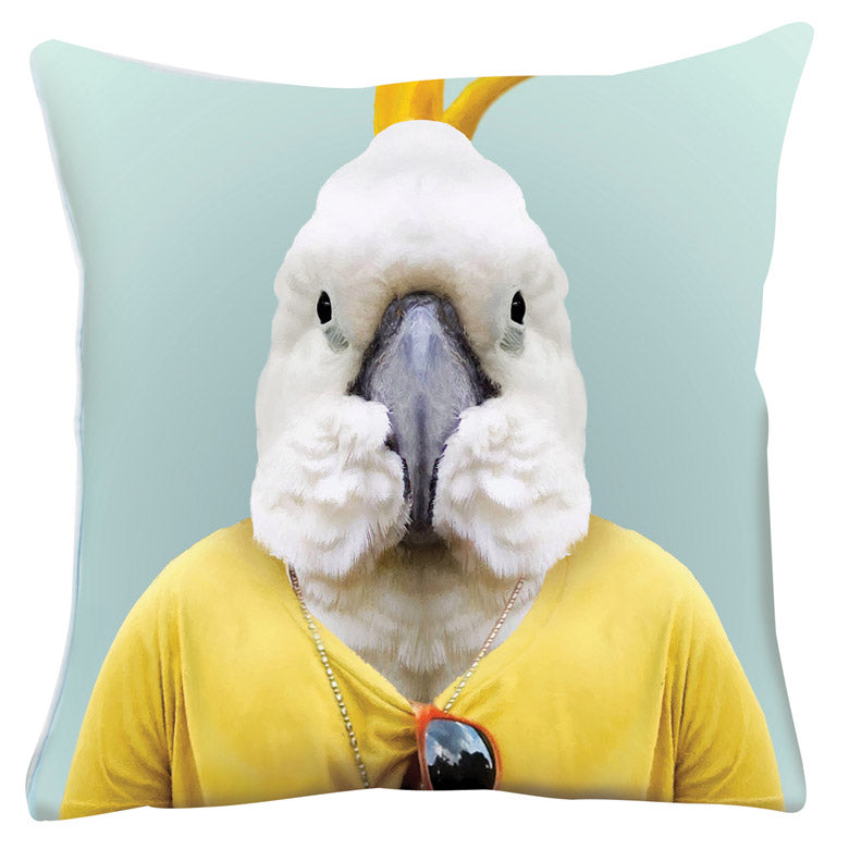 ZOO PORTRAITS CUSHIONS - Cockatoo