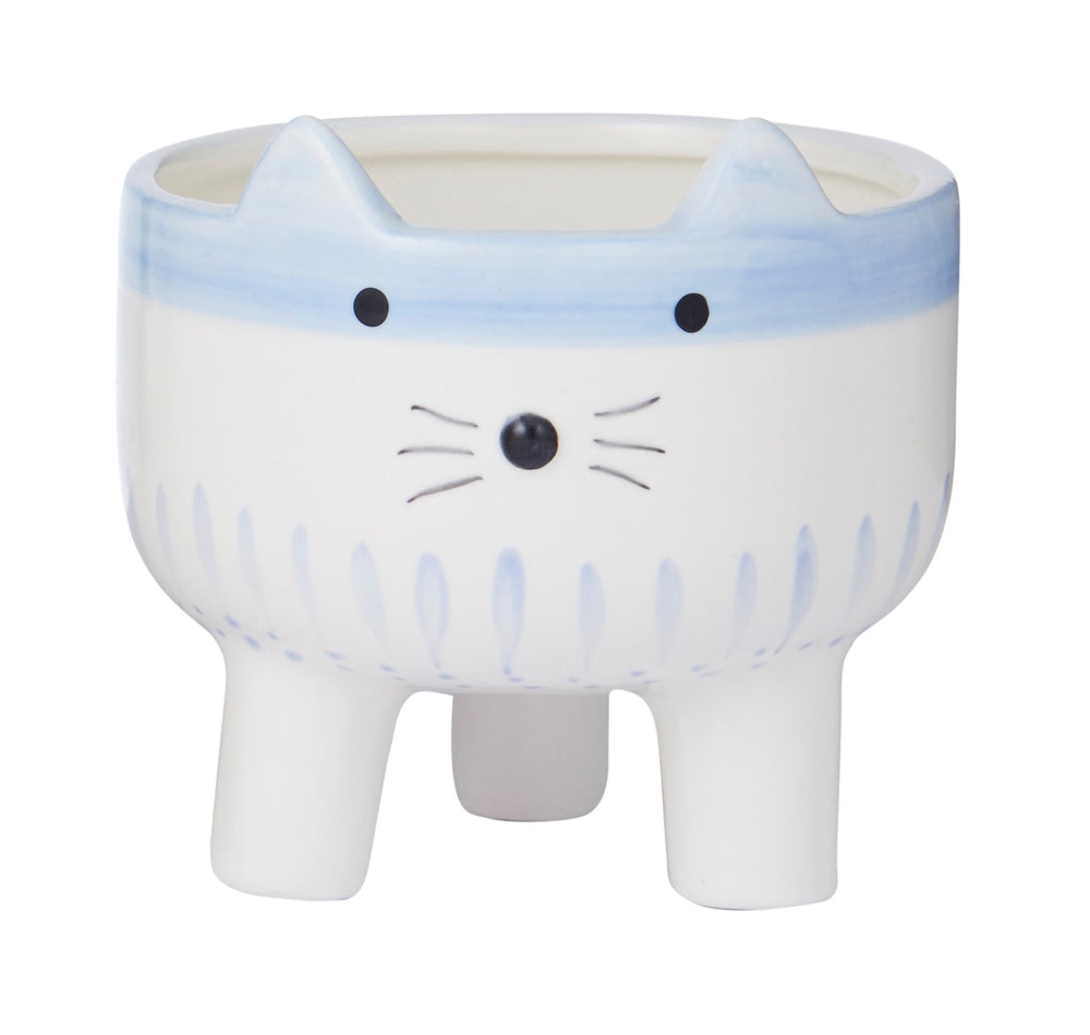 HAPPY ANIMAL POT - CAT