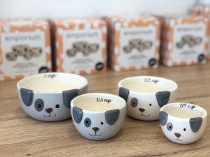 MEASURING CUPS - SPOTTY DOG