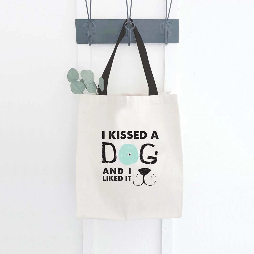 I KISSED A DOG - CANVAS BAG