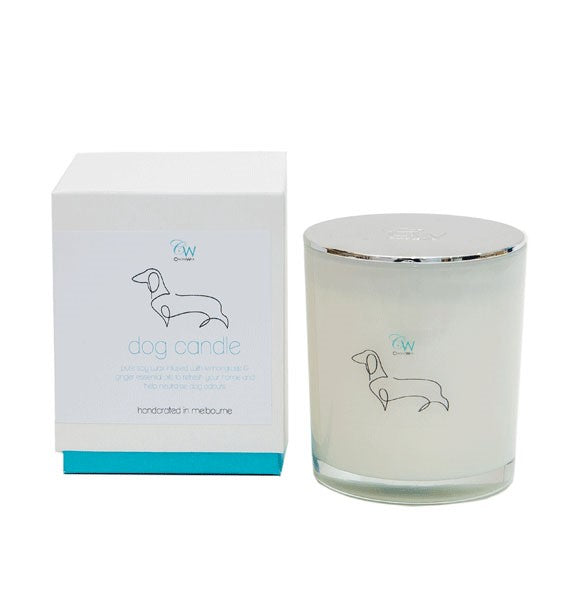 LEMONGRASS & GINGER SOY CANDLE - DOG