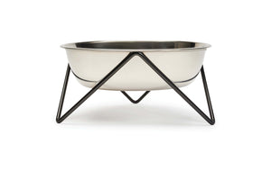 WOOF DOG BOWL - LUXE BLACK