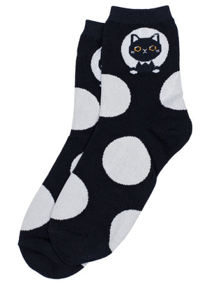 COOL SOCKS CIRCLE CAT