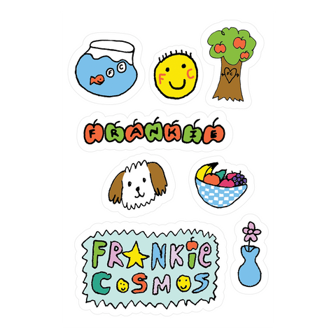 Frankie Cosmos Sticker Sheet