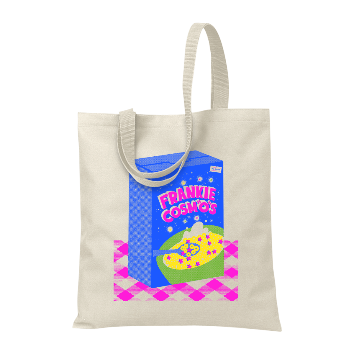 Cereal Box Tote Bag