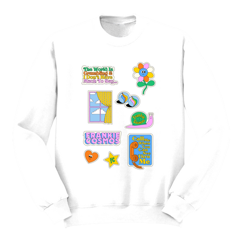 Close It Quietly Crewneck Sweater