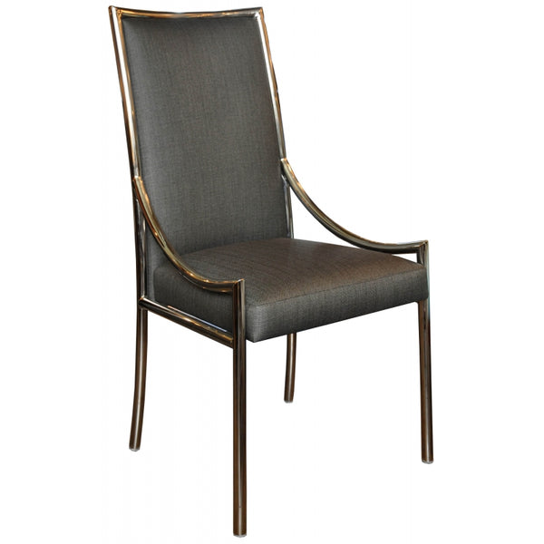 Empiric 2012-01 Nickel Dining Chair