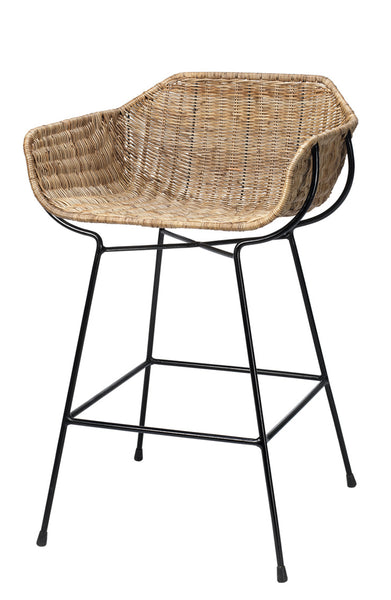 Rattan Counter Stool
