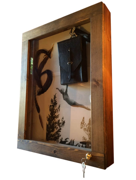 Lockable Hanging Display Case
