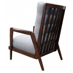 Slat Back Lounge Chair