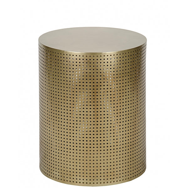 Small Perforated Brass Table