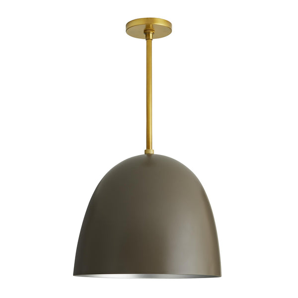 Taupe Ponce Pendant