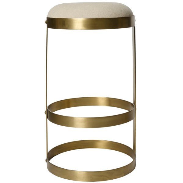 Dior Stool in Brass