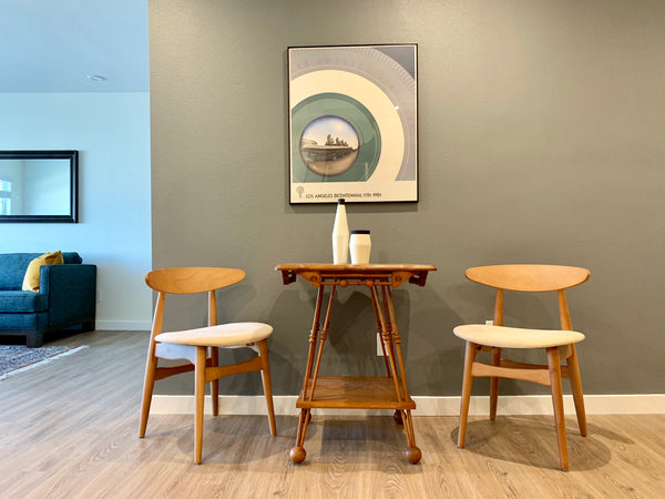 Set of 4, Wood Dining Chairs