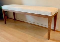 Empiric 7004 Bench in Ivory Linen