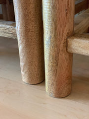 Pair, Woven Rope Stools
