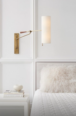 Frankfort Articulating Wall Light, Brass