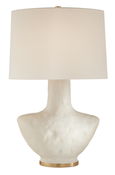 Porous White Ceramic Table Lamp
