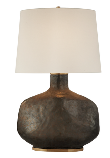 Crystal Bronze Ceramic Table Lamp