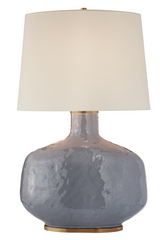 Cloudy Blue Ceramic Table Lamp