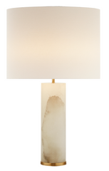 Column Alabaster Table Lamp